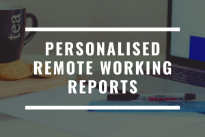 Personalised advice for managing your team working at home